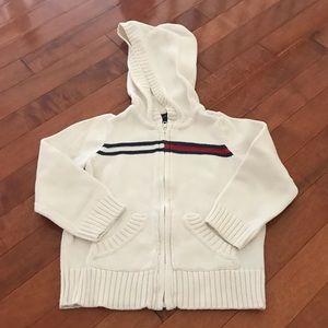 Tommy Hilfiger zip-up hoodie. Kid size 3.